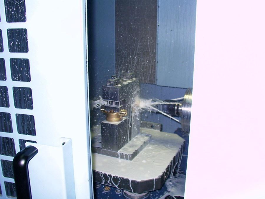 CNC Drehmaschine der alcom gmbh